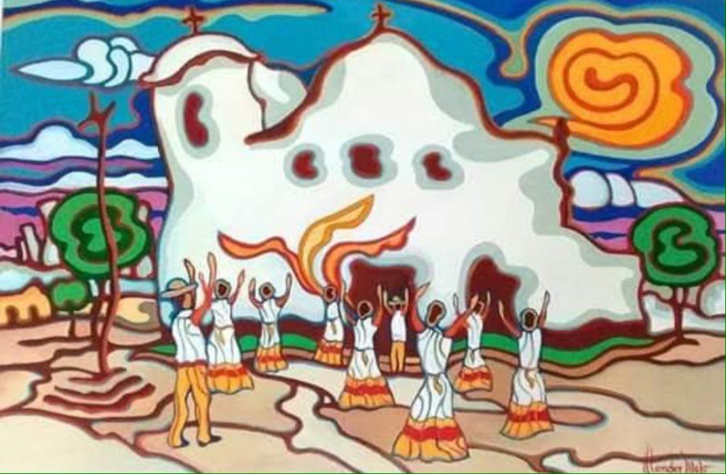 Dança do siriri na igreja são benedito - Wander Mello