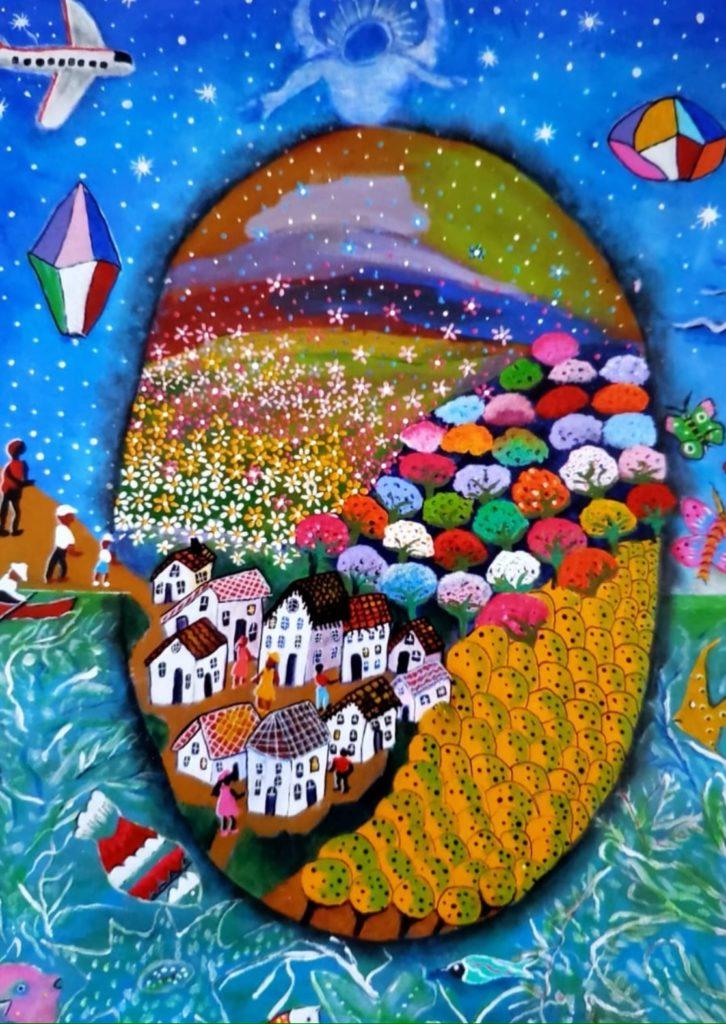 Meu mundo colorido - Lidia Saczkovski